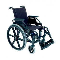 Breezy Premium / Silla de ruedas acero autopropulsable
