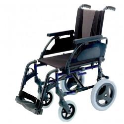 Breezy premium / Silla de ruedas de acero con ruedas pequeñas
