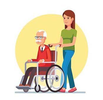 ¿Cómo asistir a personas en silla de ruedas en la calle?