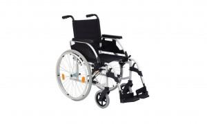 Sillas de ruedas de acero plegables