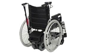 Motorización silla de ruedas manual